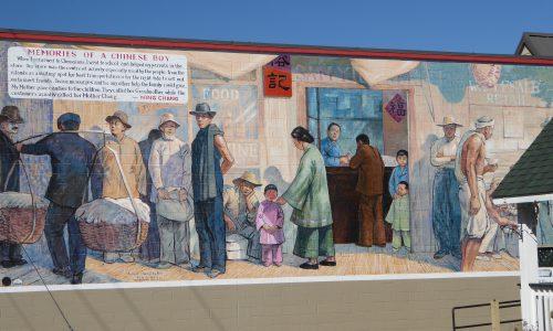 Les fresques murales de Chemainus