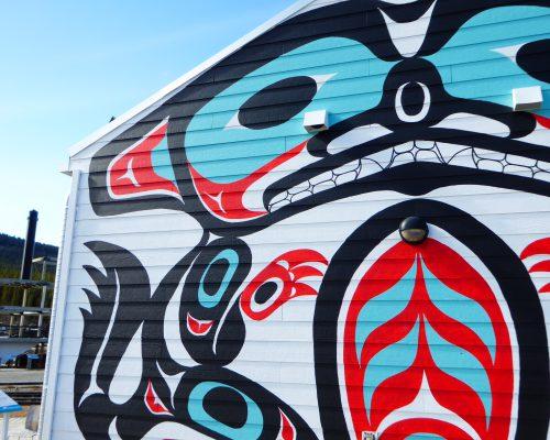Art indigène à Carcross