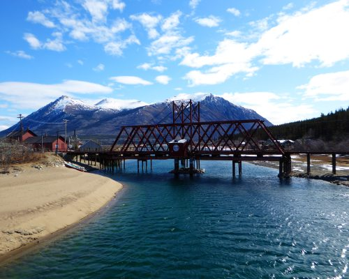 Pont du train Whitepass de Carcross