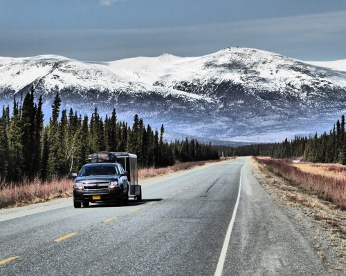 Route vers l'Alaska