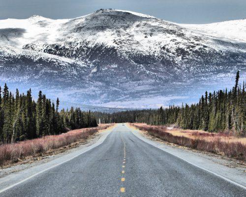 Route vers Kluane National Park (2)