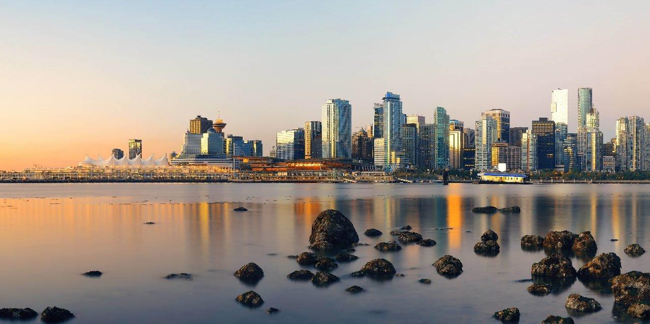 Vue sur Vancouver