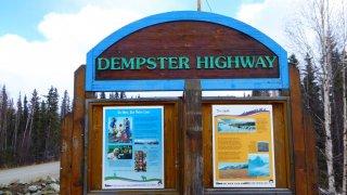 Panneau Dempster Highway