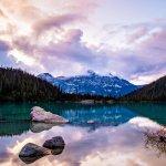 Vue lac de Joffre, Whistler
