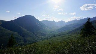 Randonnée dans le Yukon